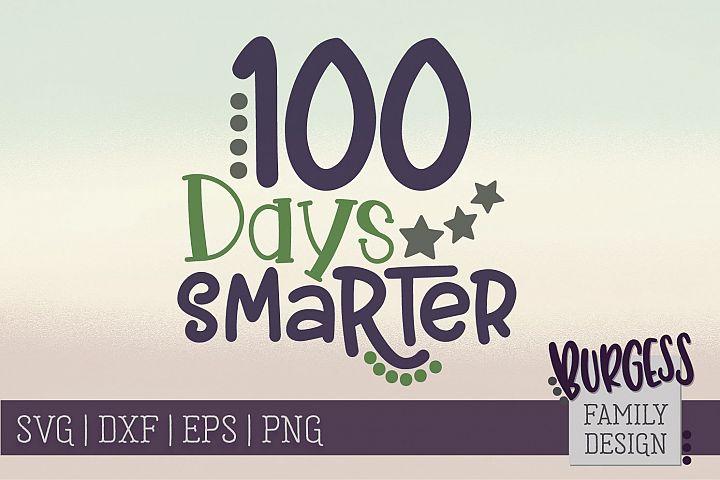 100 days smarter | SVG DXF EPS PNG
