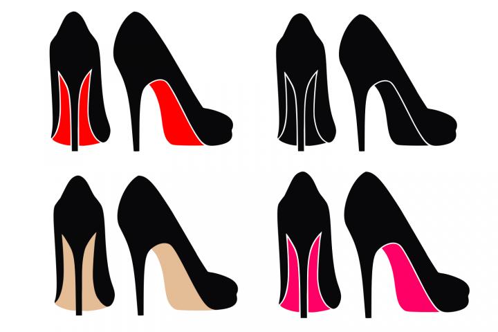 High heels svg