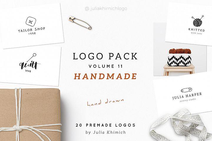 Logo Pack Volume 11. Handmade