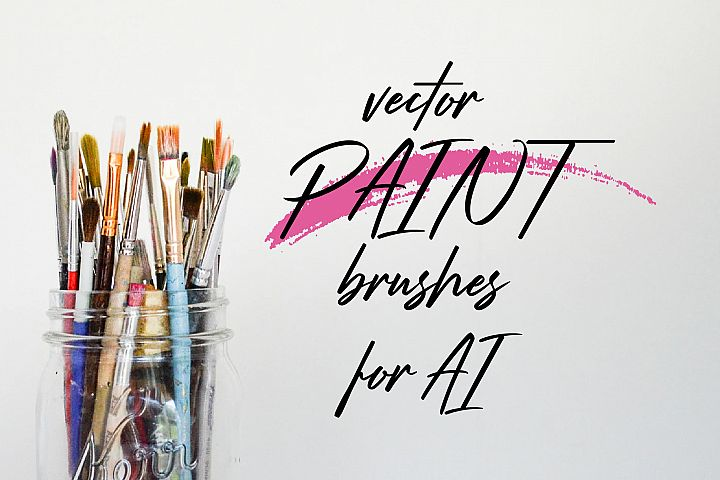 Vector Paint brushes for AI