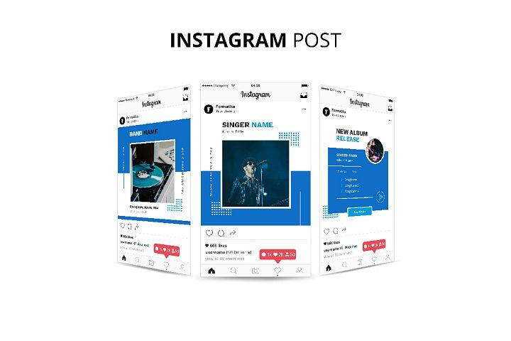 Music Instagram Post Banner Template