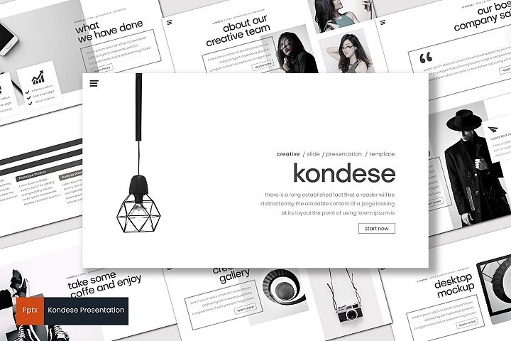 Kondese - Powerpoint Template