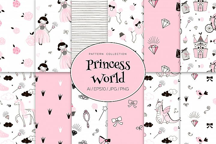 Princess World pattens collection