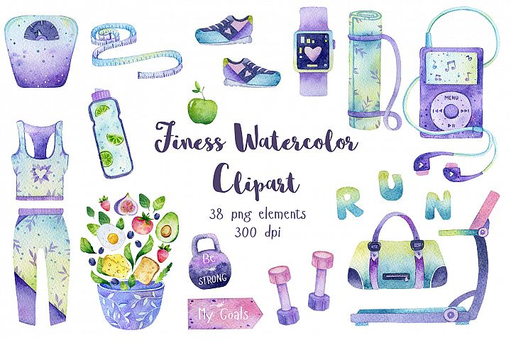 Healthy Lifestyle Clipart