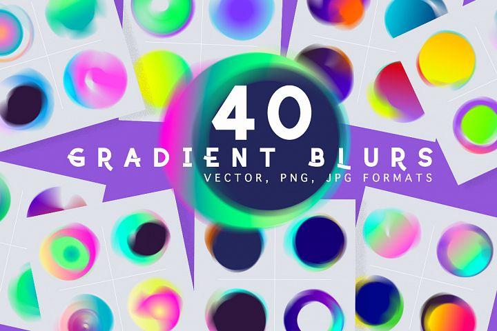 40 Blur gradient