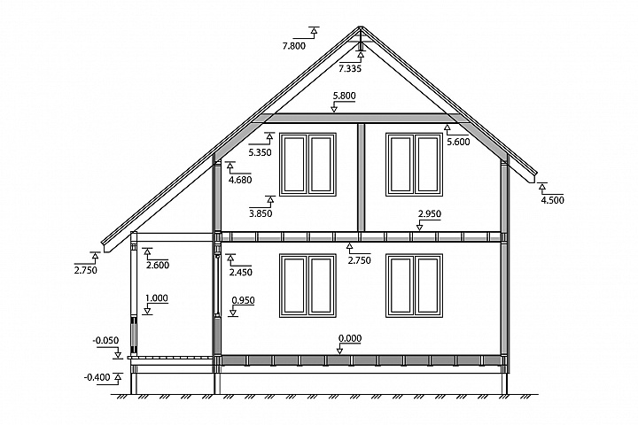 Big house plan or scheme