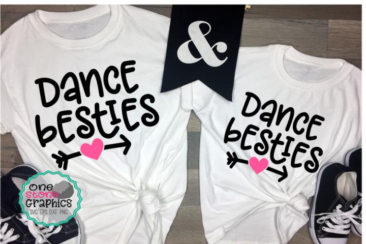 Dance svgs,dance besties svg,dance svg,best friends svg