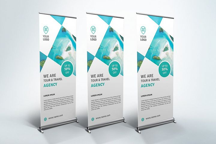 Travel - Roll Up Banner