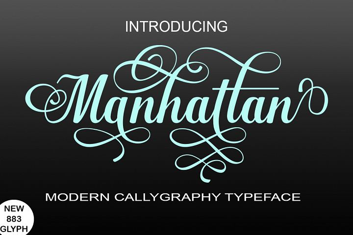 Manhattan - Free Font of The Week