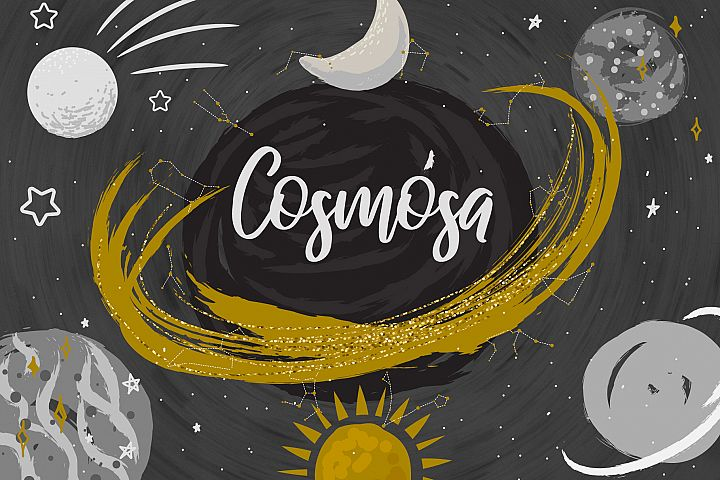 Cosmosa - Patterns & Graphics