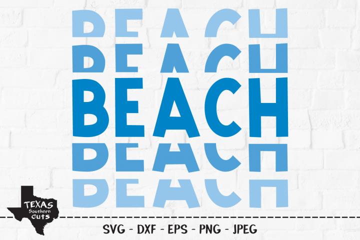 Beach SVG, Cut File, Summer Shirt Design