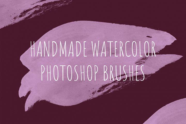 68 handmade watercolor PS brushes