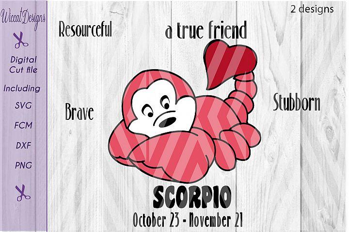 Scorpio svg, Star sign svg, Zodiac sign svg, november sign,