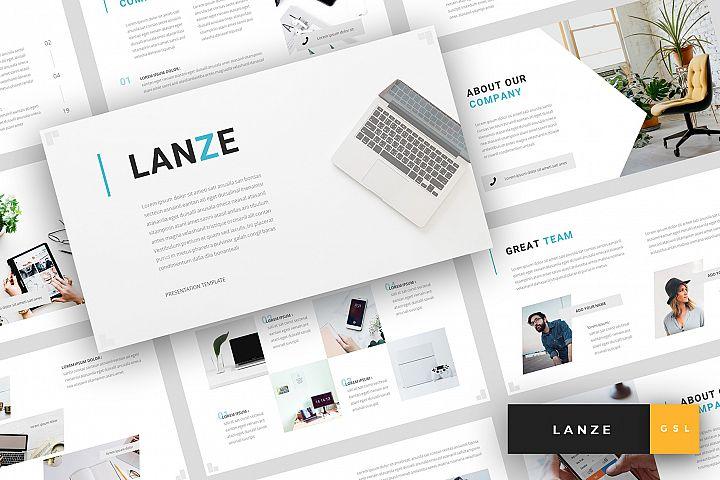 Lanze - Marketing Google Slides Template
