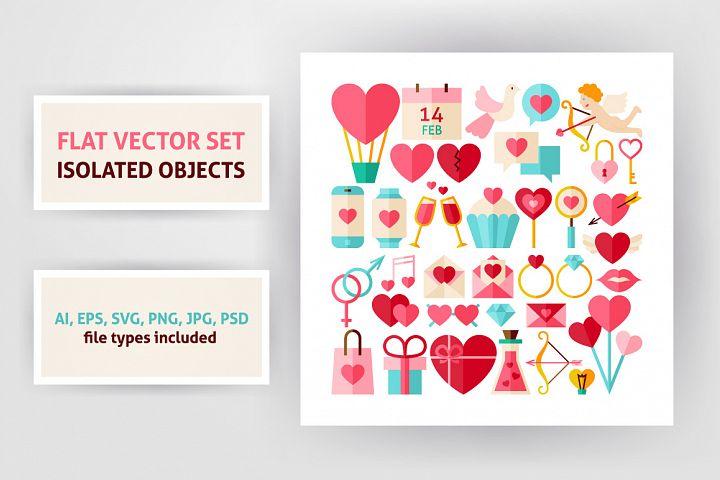 Valentine Day & Love Infographics example 3