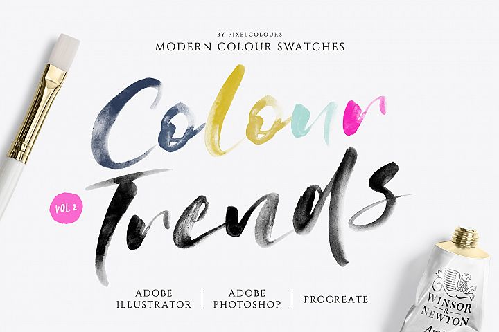 Modern Color Swatches Vol 2.