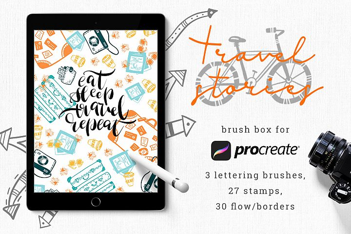 Travel Brush Box for Procreate