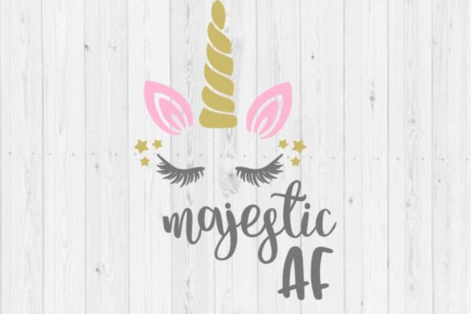 Majestic AF, unicorn svg, majestic AF unicorn, Silhouette, SVG, cut file, png, Silhouette cut file, dxf, instant download, unicorn, digital