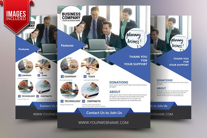 Business Planner Flyer