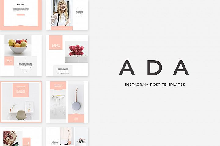 Ada Instagram Post Templates