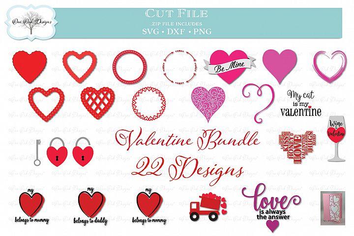 Valentines Day Bundle -- 22 Designs!