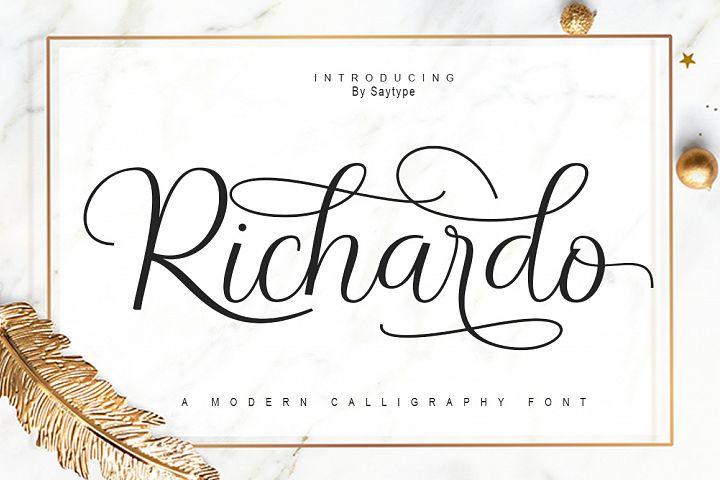 Richardo Script