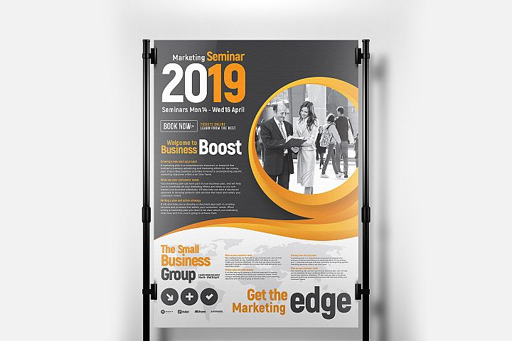 Corporate Banner Poster Template