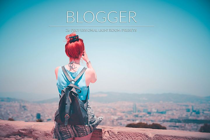 Blogger Lr Presets