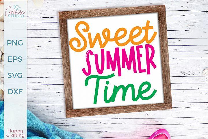 Sweet Summer Time - A Summer Craft