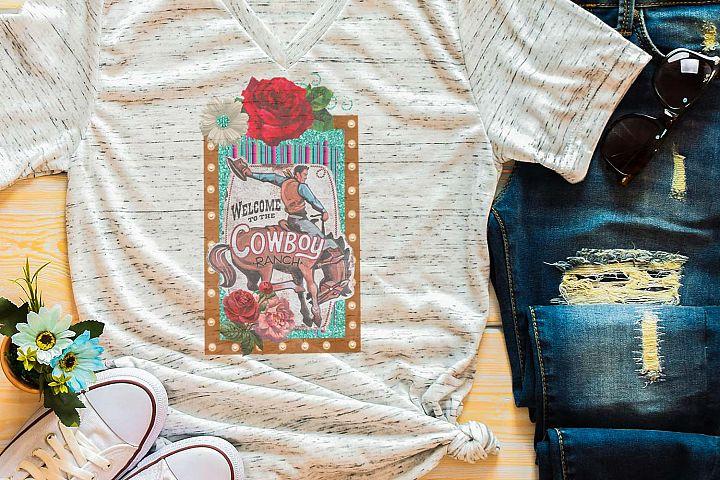 Rose Ranch Sublimation Digital Download