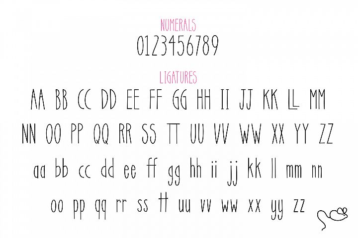 Scat Cat - Free Font of The Week Design 1