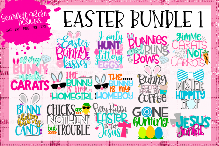 Easter SVG Bundle 1