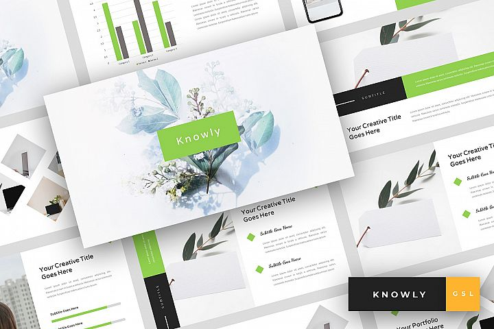 Knowly - Clean Google Slides Template
