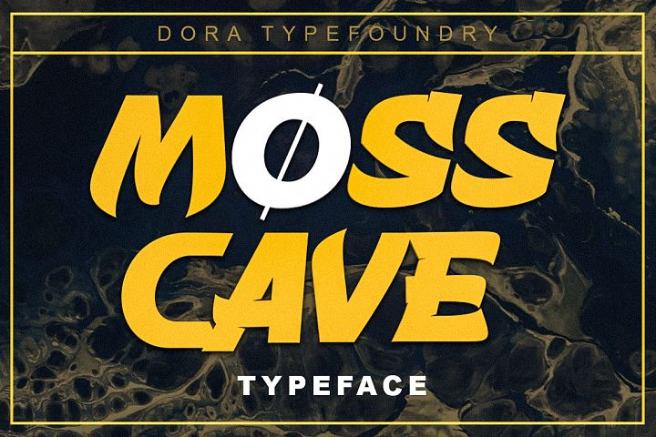Mosscave Typeface