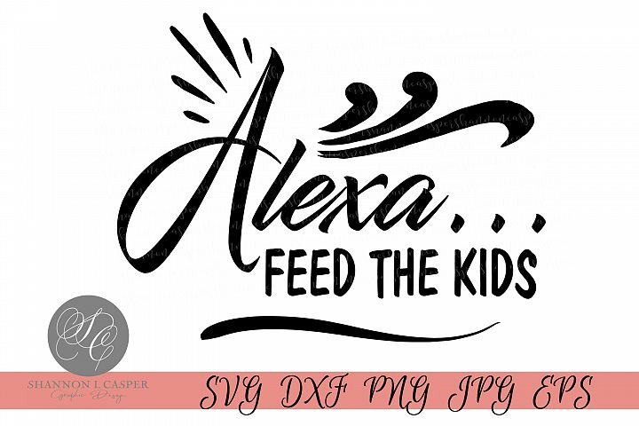 Alexa, feed the kids
