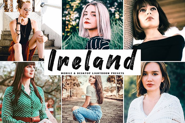 Ireland Mobile & Desktop Lightroom Presets