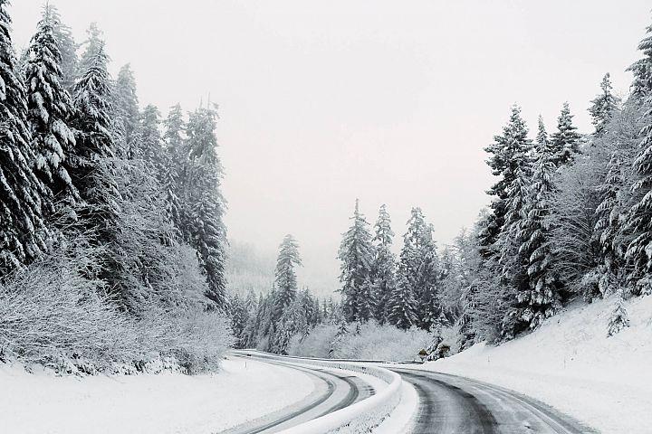 Winter Road of Oregon