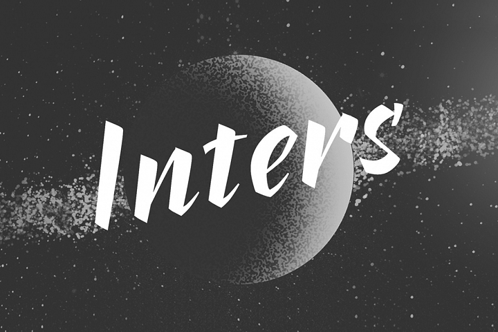 Inters—handwritten font