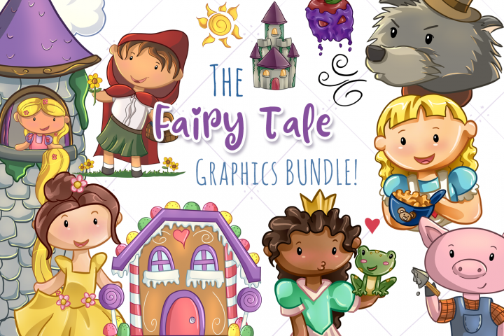 The Fairy Tale Graphics Bundle!