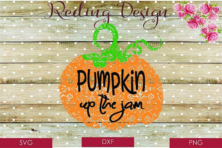 Pumpkin SVG DXF PNG Digital Cut Files