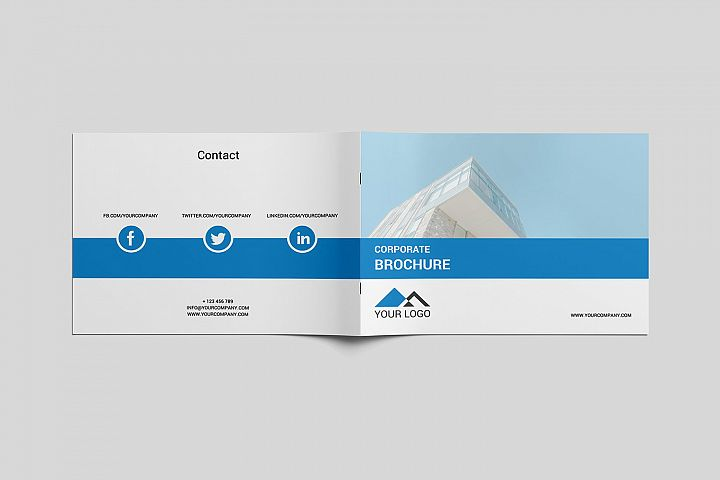 Corporate Business Brochure PSD - SK