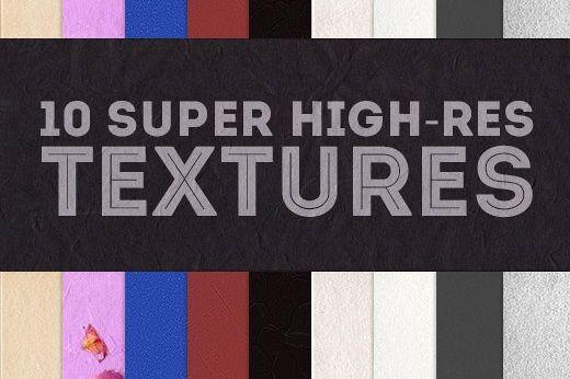 10 Super High-Resolution Textures & Patterns