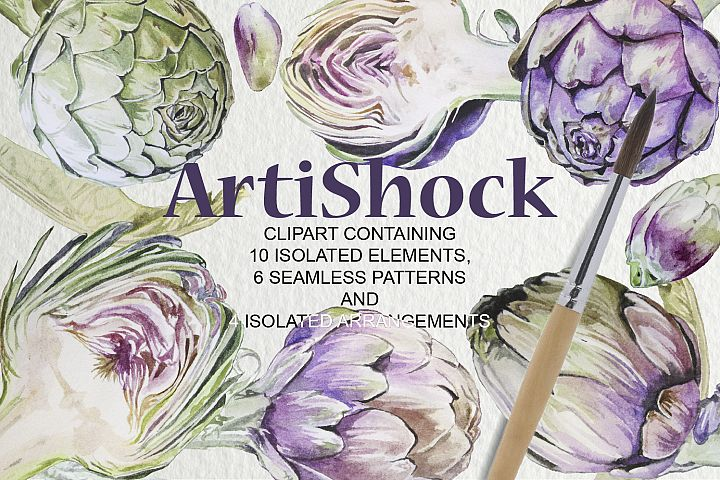 ArtiShock Watercolor Design set