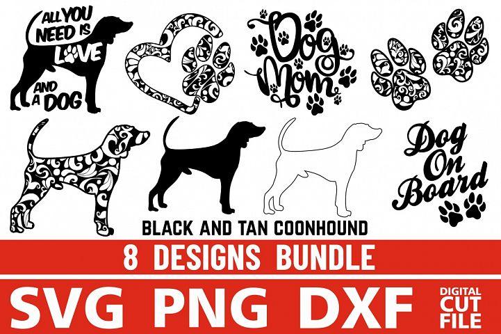 8x Black And Tan Bundle svg ,Dog Shapes svg, Silhouettes