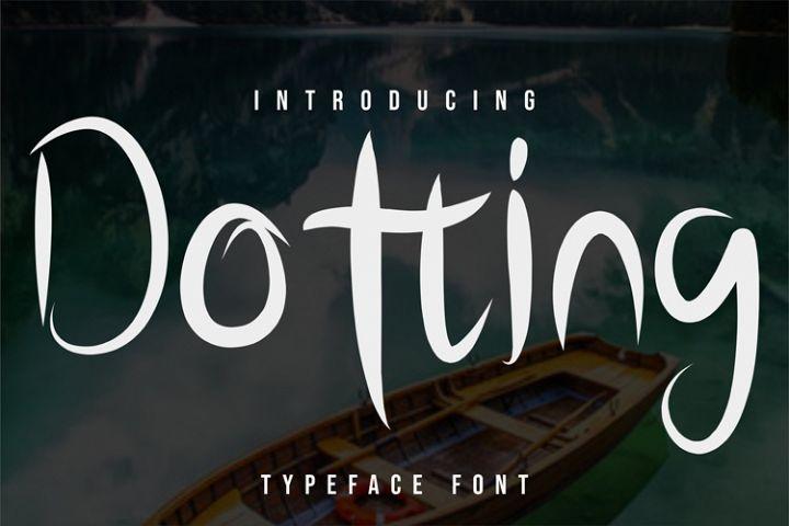 Dotting