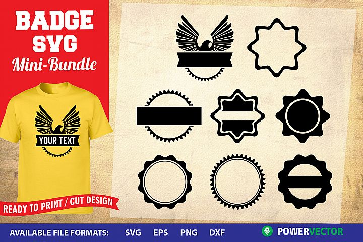 Badge SVG | Logo Frame Templates