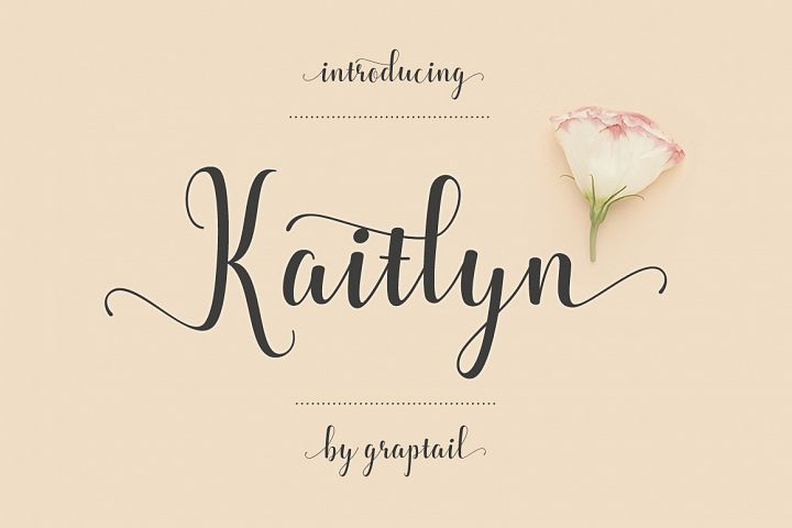 Kaitlyn Script - Free Font of The Week Font