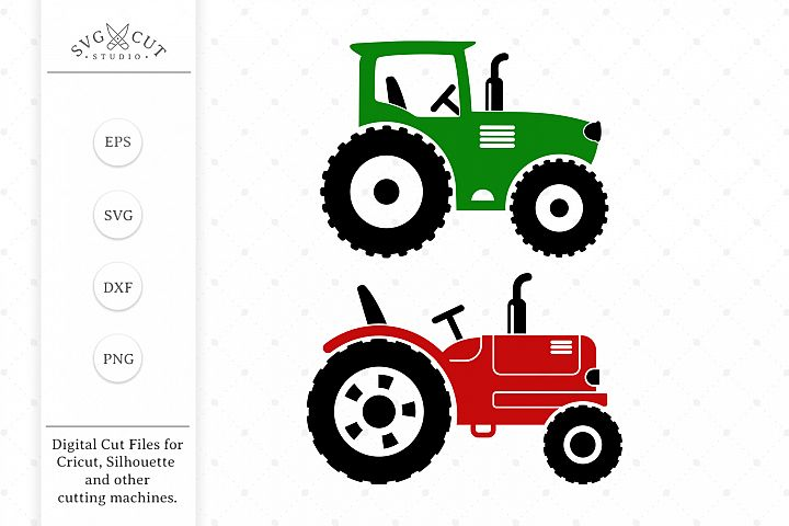 Tractor SVG Cut files