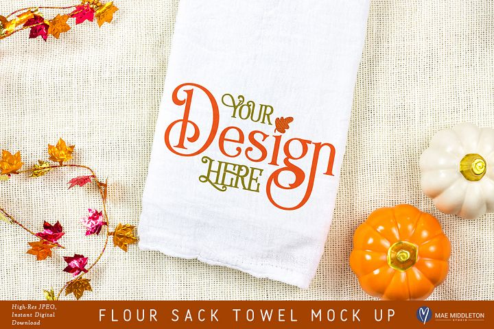 Flour Sack Towel Mock up