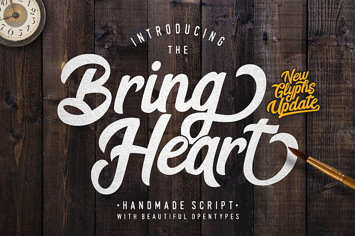 Bring Heart & Extras example